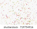 transparent background with... | Shutterstock .eps vector #719754916