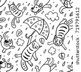 """""""it's raining cats and dogs... 