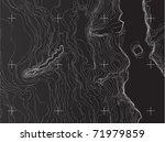 map of earth | Shutterstock .eps vector #71979859