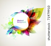spring melody | Shutterstock .eps vector #71979910
