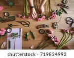 Workshop Florist. The Hand Of...