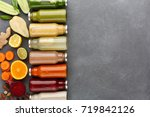 healthy food. assortment of... | Shutterstock . vector #719842126