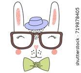 hand drawn vector illustration... | Shutterstock .eps vector #719878405