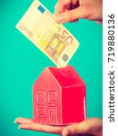 household savings and finances  ... | Shutterstock . vector #719880136
