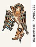 celtic zoological national...   Shutterstock .eps vector #719887132