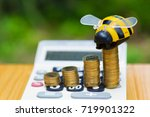 savings  growing coins and... | Shutterstock . vector #719901322