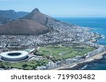 view of the stadium and in cape ... | Shutterstock . vector #719903482