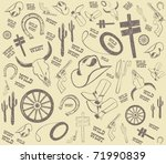 background from vector wild... | Shutterstock .eps vector #71990839