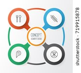 icons set. collection of check...   Shutterstock .eps vector #719915878