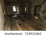 mystical interior  ruins of an...   Shutterstock . vector #719921062