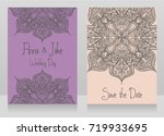 two banners for gypsy style... | Shutterstock .eps vector #719933695