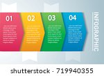 arrow infographic concept.... | Shutterstock .eps vector #719940355