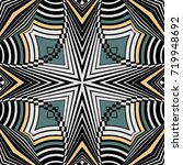 art deco style seamless pattern ... | Shutterstock .eps vector #719948692