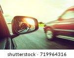 asian women travel relax in the ... | Shutterstock . vector #719964316