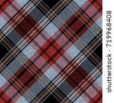 seamless tartan plaid pattern....   Shutterstock .eps vector #719968408