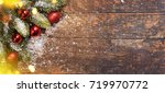 christmas and new year s...   Shutterstock . vector #719970772