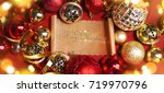 christmas and new year holidays ...   Shutterstock . vector #719970796