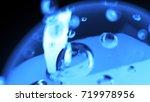 macro shot of liquid or air