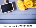 rose flowers with sale...   Shutterstock . vector #719992072