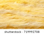 mineral wool  or mineral fiber  ... | Shutterstock . vector #719992708