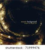 mosaic background. eps10. | Shutterstock .eps vector #71999476