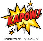 comic book effect. | Shutterstock .eps vector #720028072