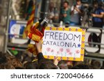 barcelona  catalonia  spain ... | Shutterstock . vector #720040666