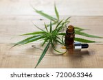 medicinal cannabis with extract ... | Shutterstock . vector #720063346