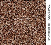 Copper Sequins Seamless Patter...