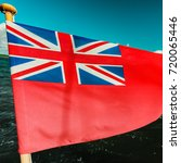 the uk red ensign the british... | Shutterstock . vector #720065446