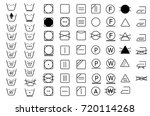 full collection of laundry... | Shutterstock .eps vector #720114268