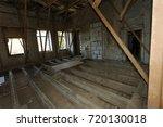 mystical interior  ruins of an... | Shutterstock . vector #720130018