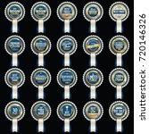sale badge. luxury sale badges. ...   Shutterstock .eps vector #720146326