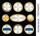 set of luxury badges. set of... | Shutterstock .eps vector #720146692