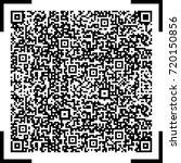 qr code vector | Shutterstock .eps vector #720150856