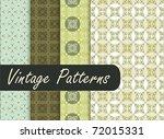 oriental vintage patterns