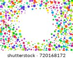 watercolor rainbow colored... | Shutterstock . vector #720168172