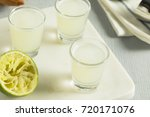 boozy lime  and vodka kamikaze...   Shutterstock . vector #720171076
