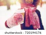 people  season  drinks and...   Shutterstock . vector #720194176