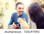 people  communication and...   Shutterstock . vector #720197092