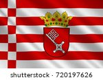 flag of the free hanseatic city ... | Shutterstock . vector #720197626