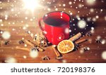christmas  holidays  cooking... | Shutterstock . vector #720198376