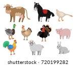 farm animals | Shutterstock . vector #720199282