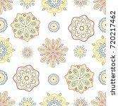 seamless tiling vector texture... | Shutterstock .eps vector #720217462