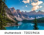 scenic view of lake moraine   Shutterstock . vector #720219616
