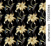 floral luxury seamless pattern. ... | Shutterstock .eps vector #720220066