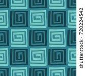 vector abstract seamless ... | Shutterstock .eps vector #720224542