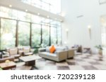 abstract blur living area in... | Shutterstock . vector #720239128