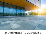 modern building and empty... | Shutterstock . vector #720240358
