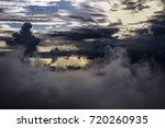 cloudy and mist | Shutterstock . vector #720260935